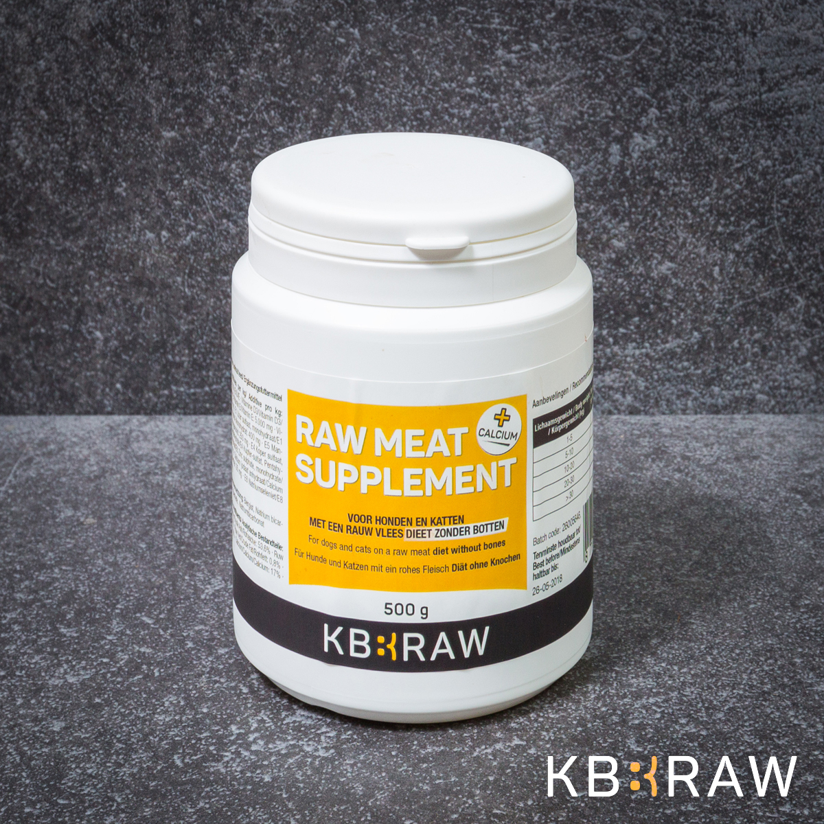 KB EXTRA - RAW MEAT SUPPLEMENT + CA