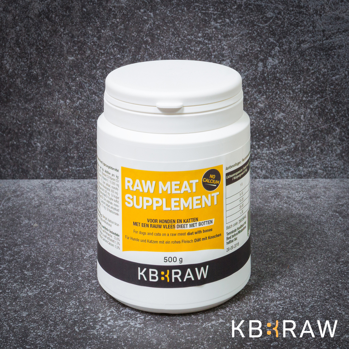 KB EXTRA - RAW MEAT SUPPLEMENT NO CA